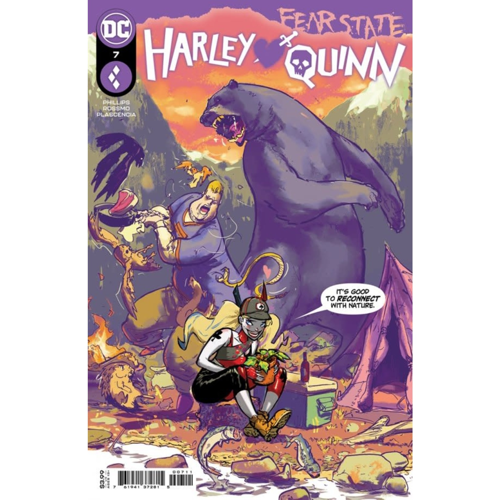 DC Comics Harley Quinn #7
