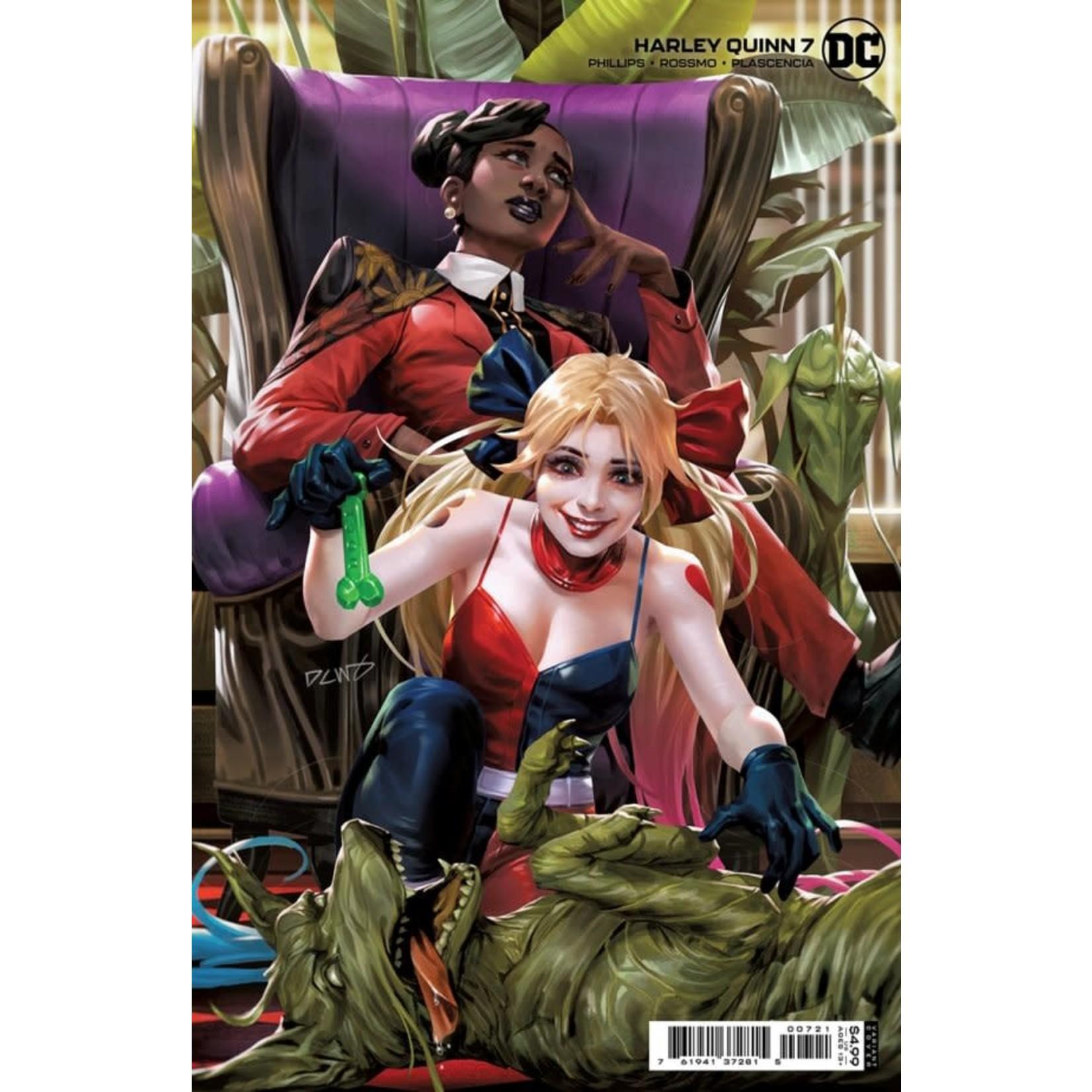DC Comics Harley Quinn #7 Cover B Chew Card Stock Variant