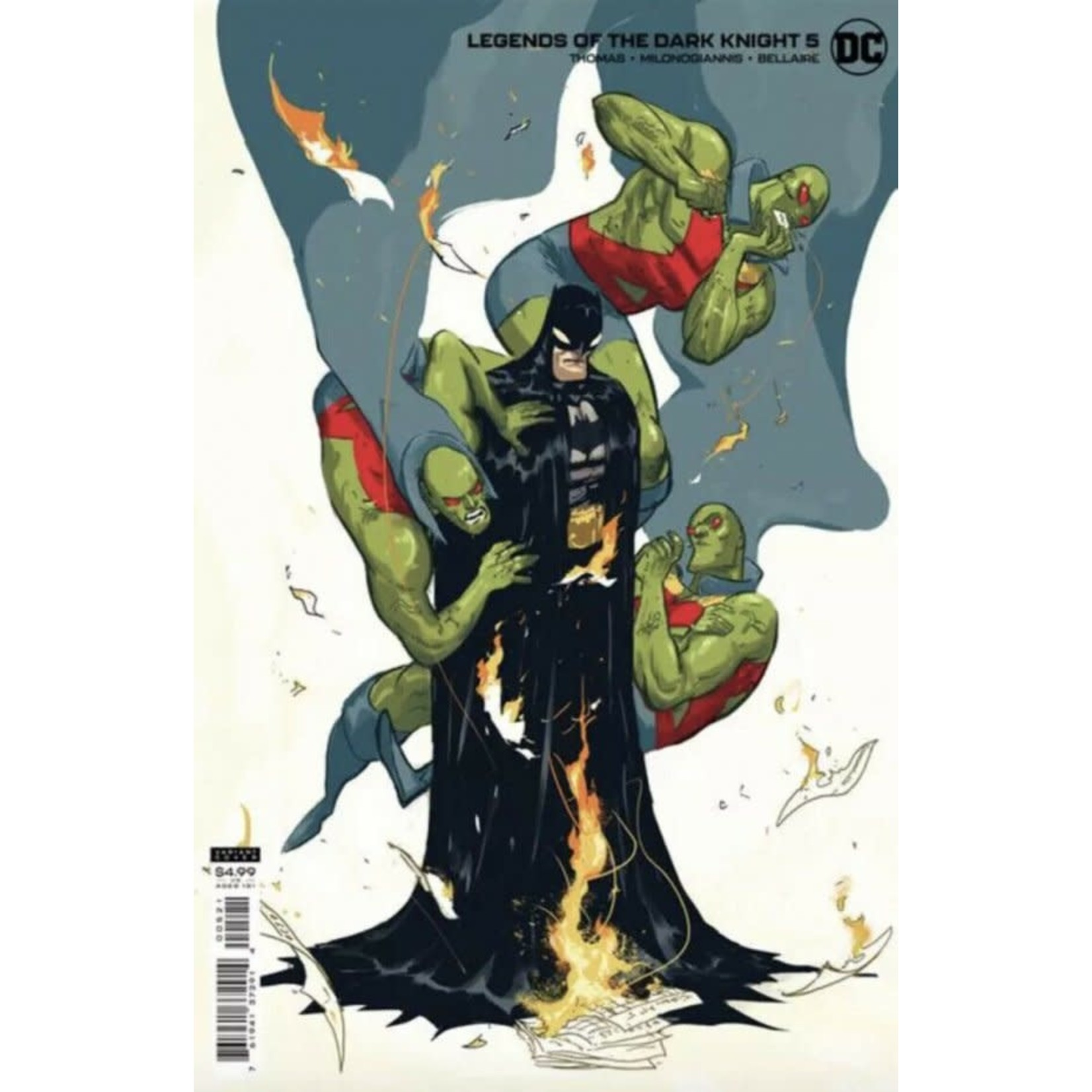 DC Comics Legends of the Dark Knight #5 Cover B Riley Rossmo Card Stock Variant