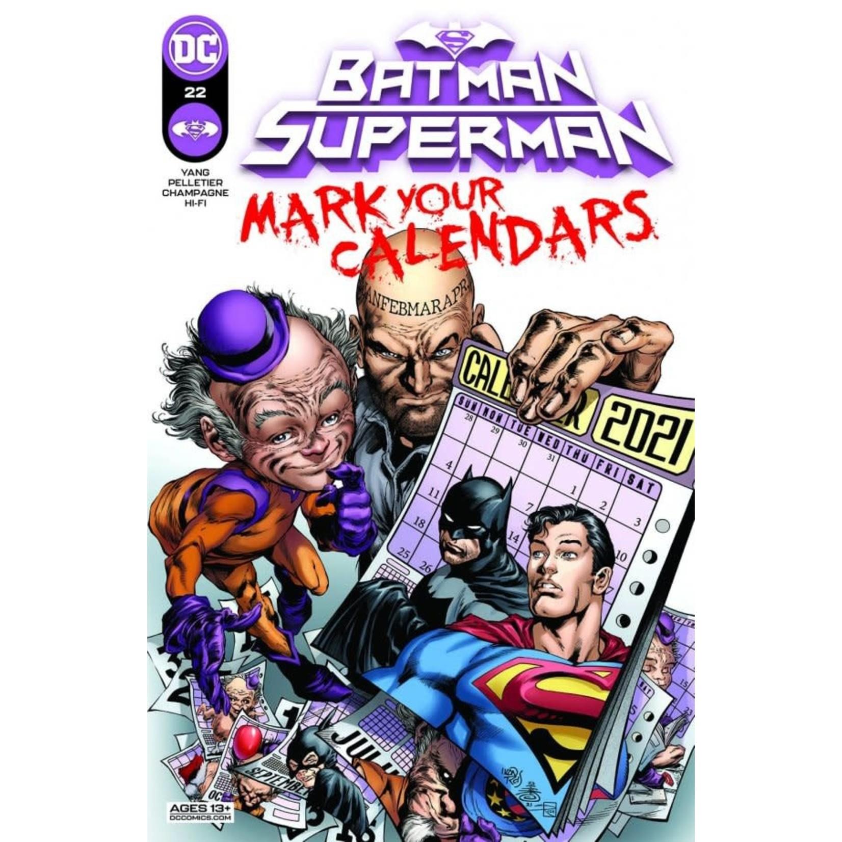 DC Comics Batman / Superman #22