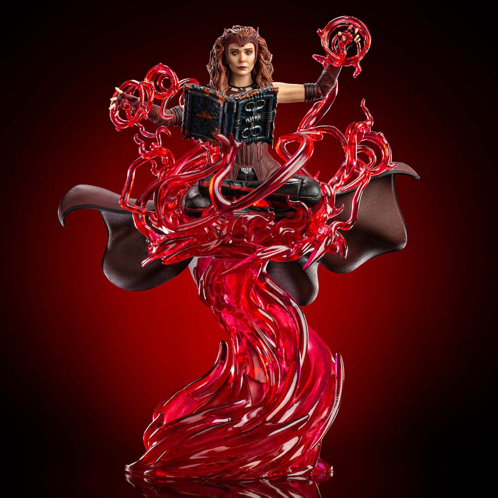 Iron Studios [Preorder] Scarlet Witch Deluxe Art Scale 1/10 – Wandavision