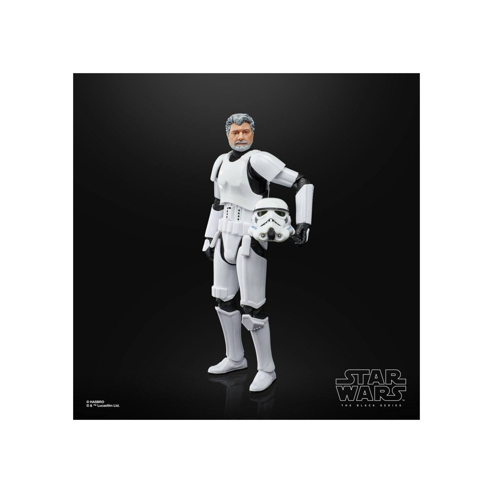 Hasbro [Preorder] Star Wars The Black Series George Lucas (in Stormtrooper Disguise) 6-Inch Action Figure