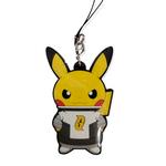 The Pokemon Company Porte clé Silicone Pokemon - pikachu Team galaxy