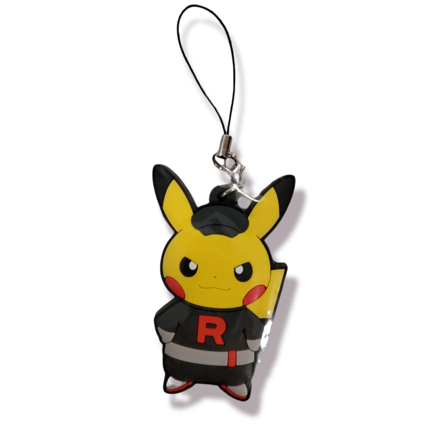 The Pokemon Company keychain Silicone Pokemon - pikachu Team Rocket