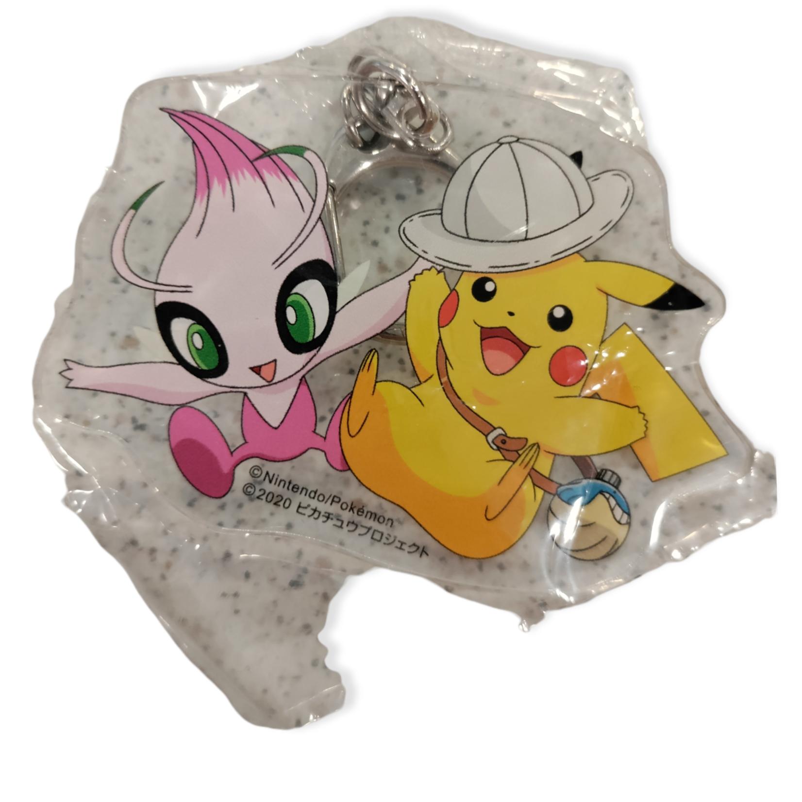 The Pokemon Company Keychain acrylic Pokemon