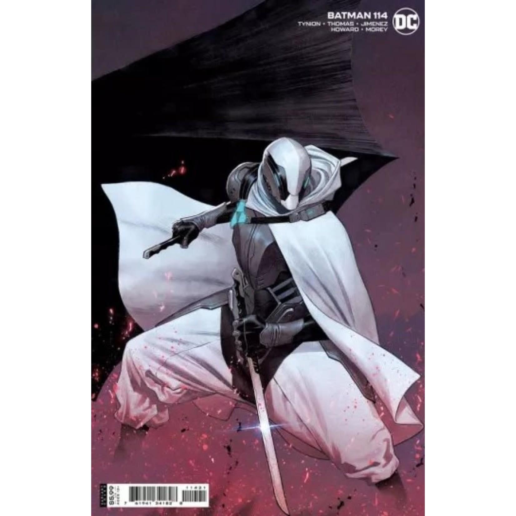 DC Comics Batman #114 Cover B Molina Card Stock Variant