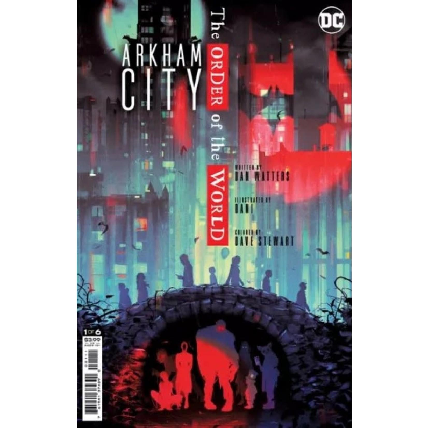 DC Comics Arkham City: The Order of the World #1
