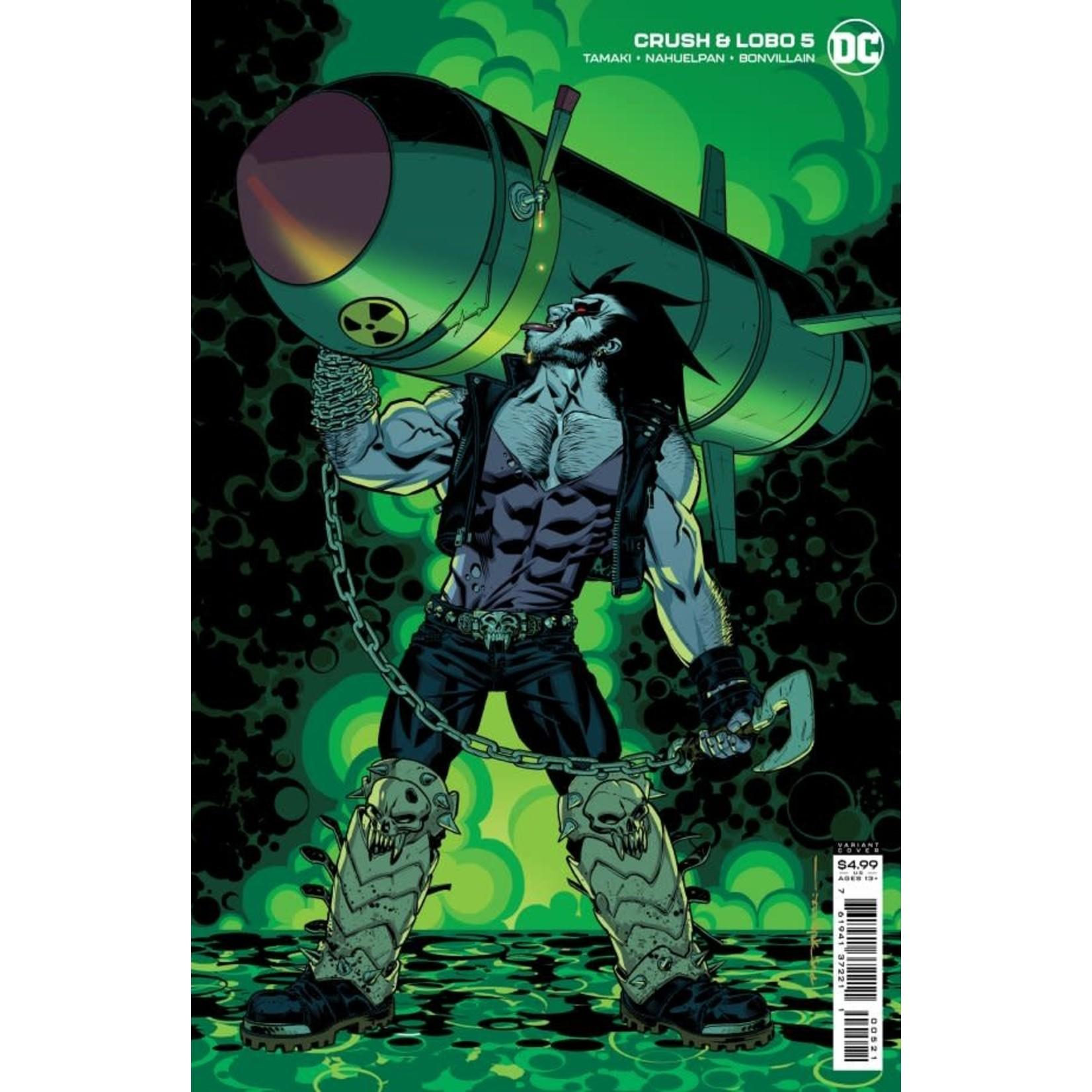DC Comics Crush & Lobo #5 Cover B Stelfreeze Card Stock Variant