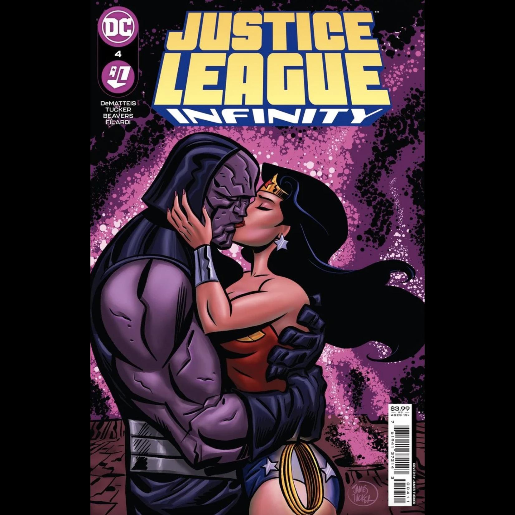DC Comics Justice League Infinity #4