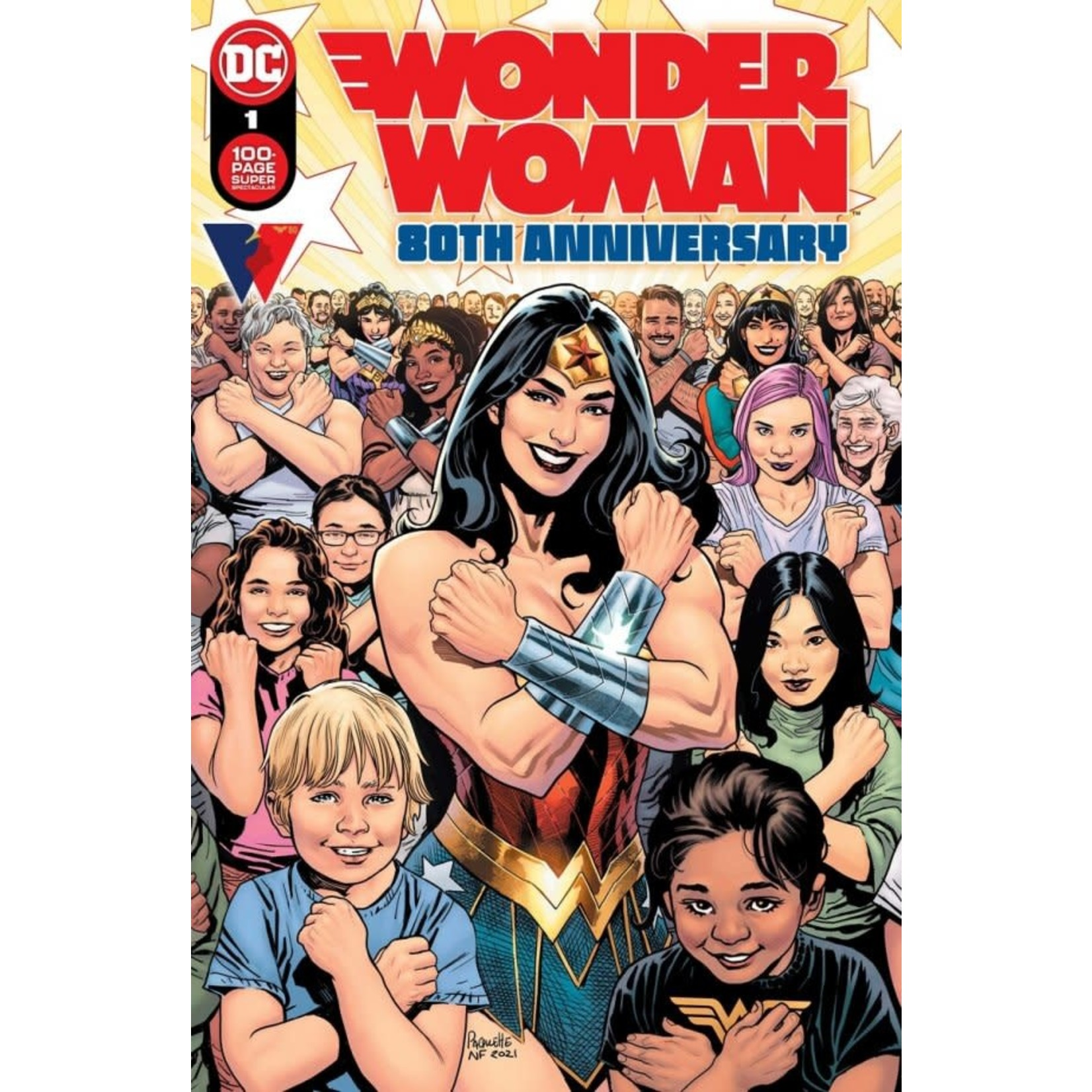 DC Comics Wonder Woman 80th Anniversary 100-Page Super Spectacular #1