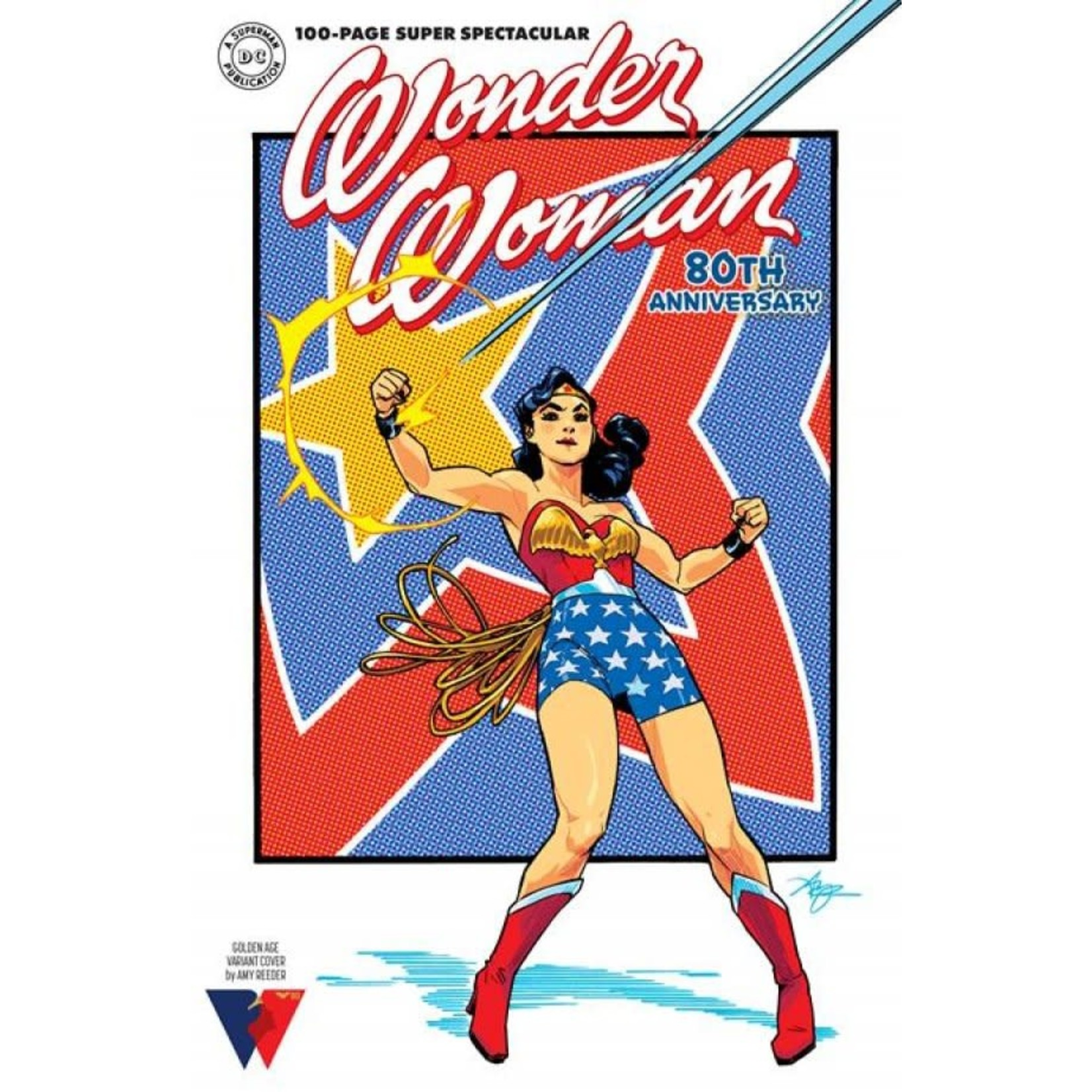 DC Comics Wonder Woman 80th Anniversary 100-Page Super Spectacular #1 Cover F Amy Reeder Variant