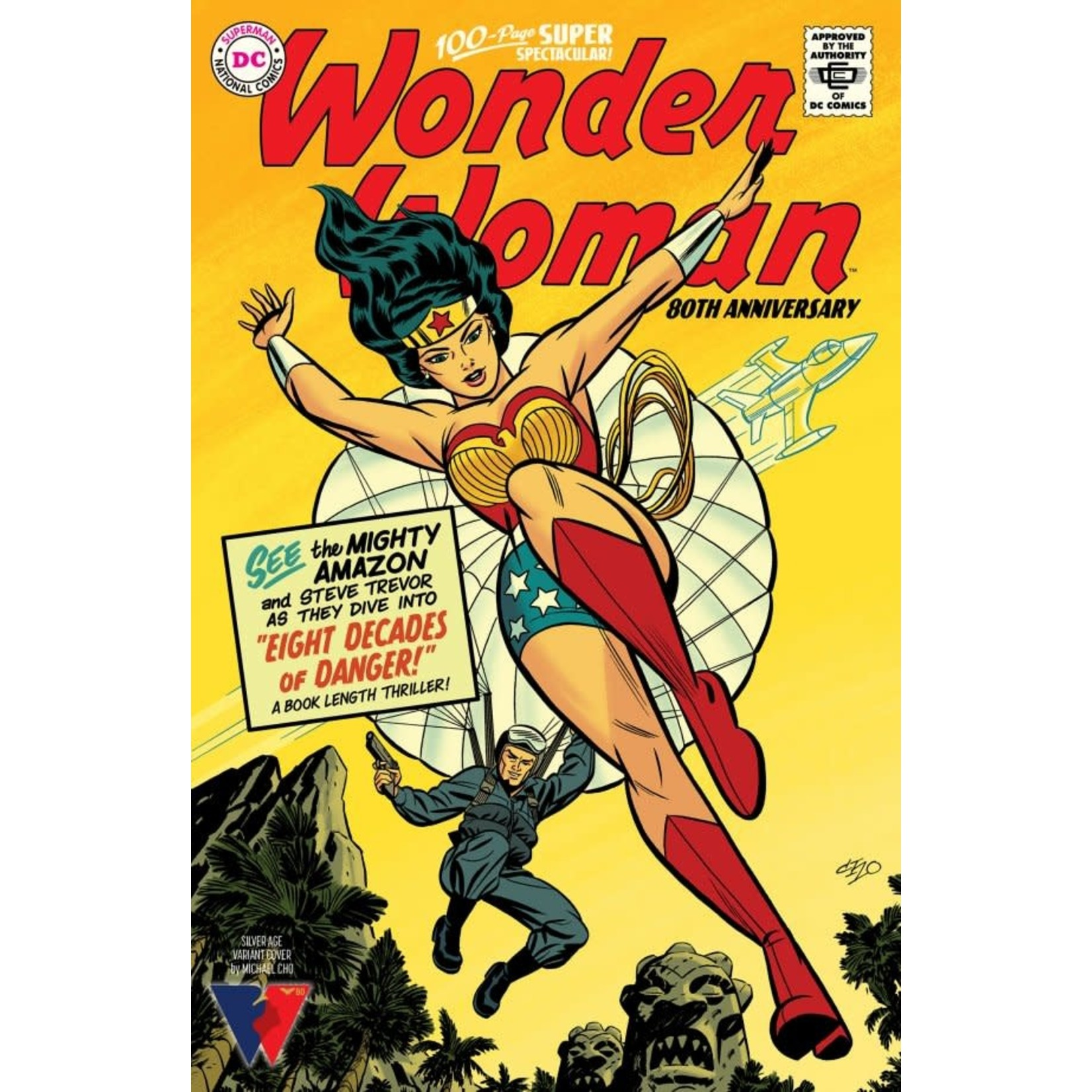 DC Comics Wonder Woman 80th Anniversary 100-Page Super Spectacular #1 Cover G Michael Cho Variant