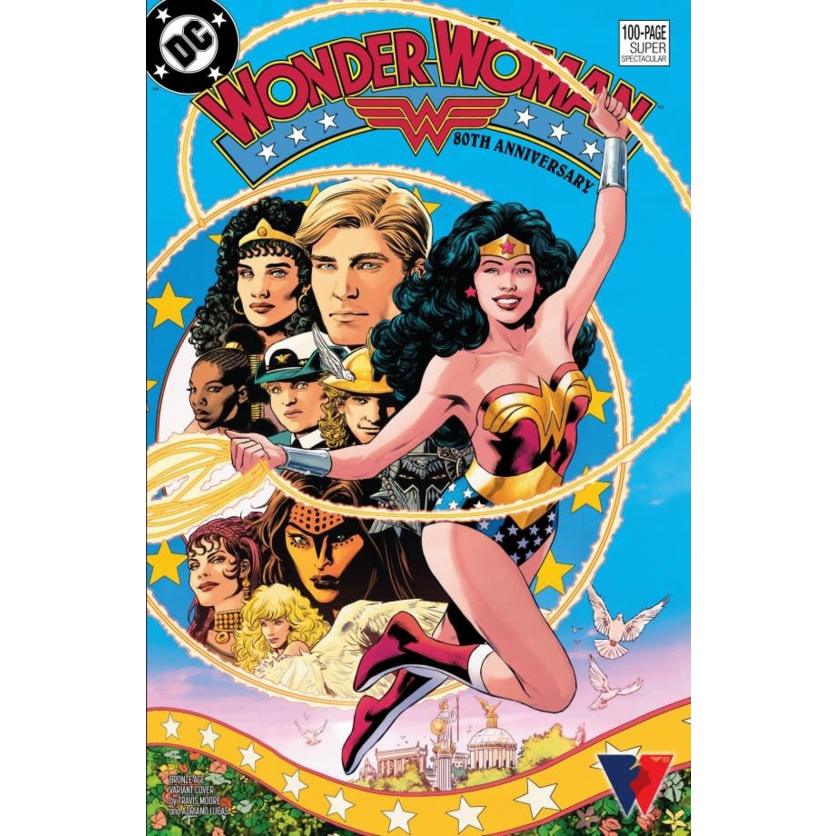 DC Comics Wonder Woman 80th Anniversary 100-Page Super Spectacular #1 Cover H Travis Moore Variant