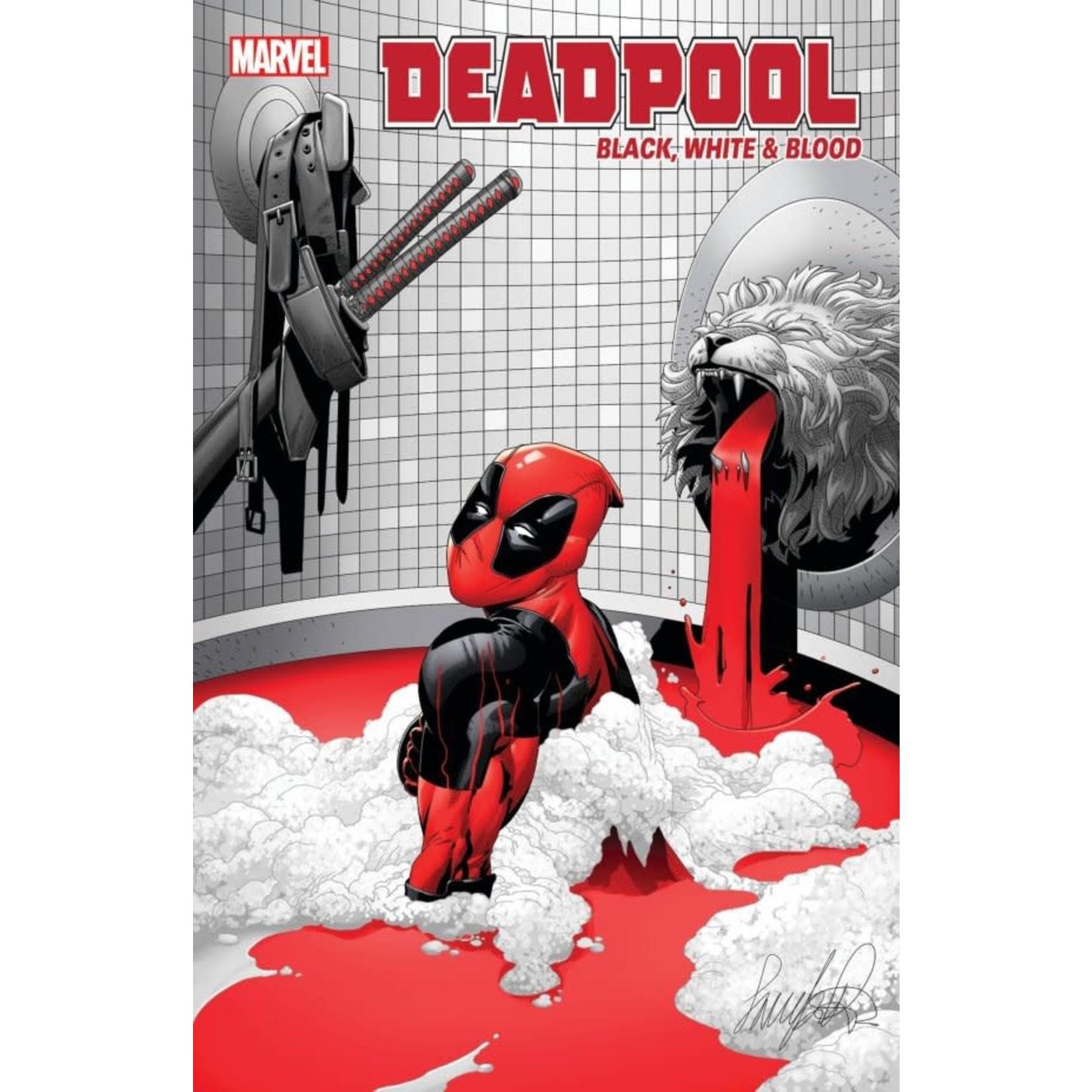 Deadpool: Black, White & Blood #3 Cover B Larroca