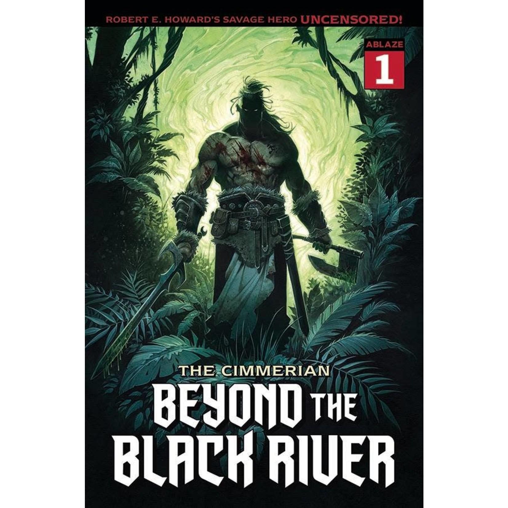 Ablaze The Cimmerian: Beyond the Black River #1 Cover B Jean