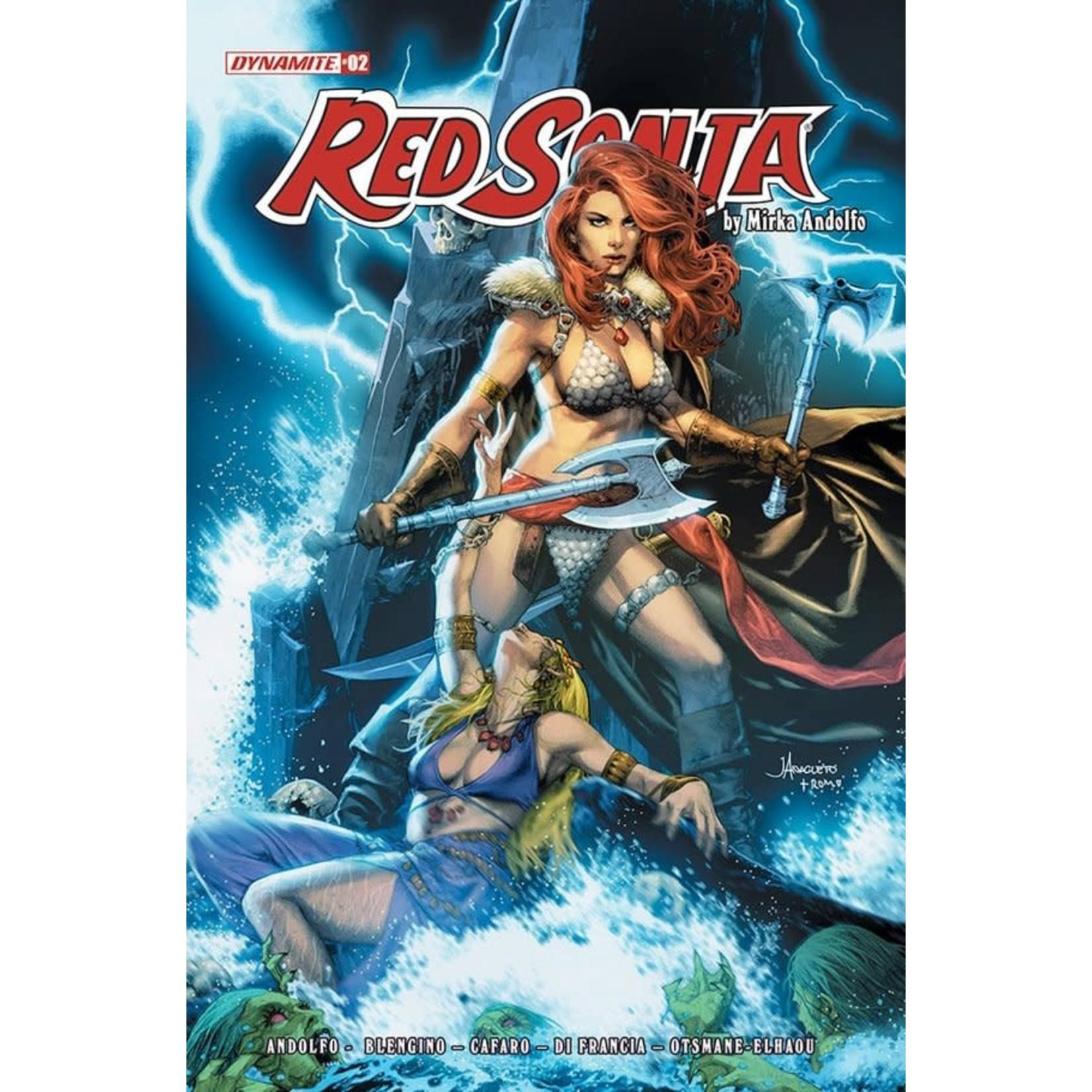 Dynamite Red Sonja #2 Cover B Anacleto