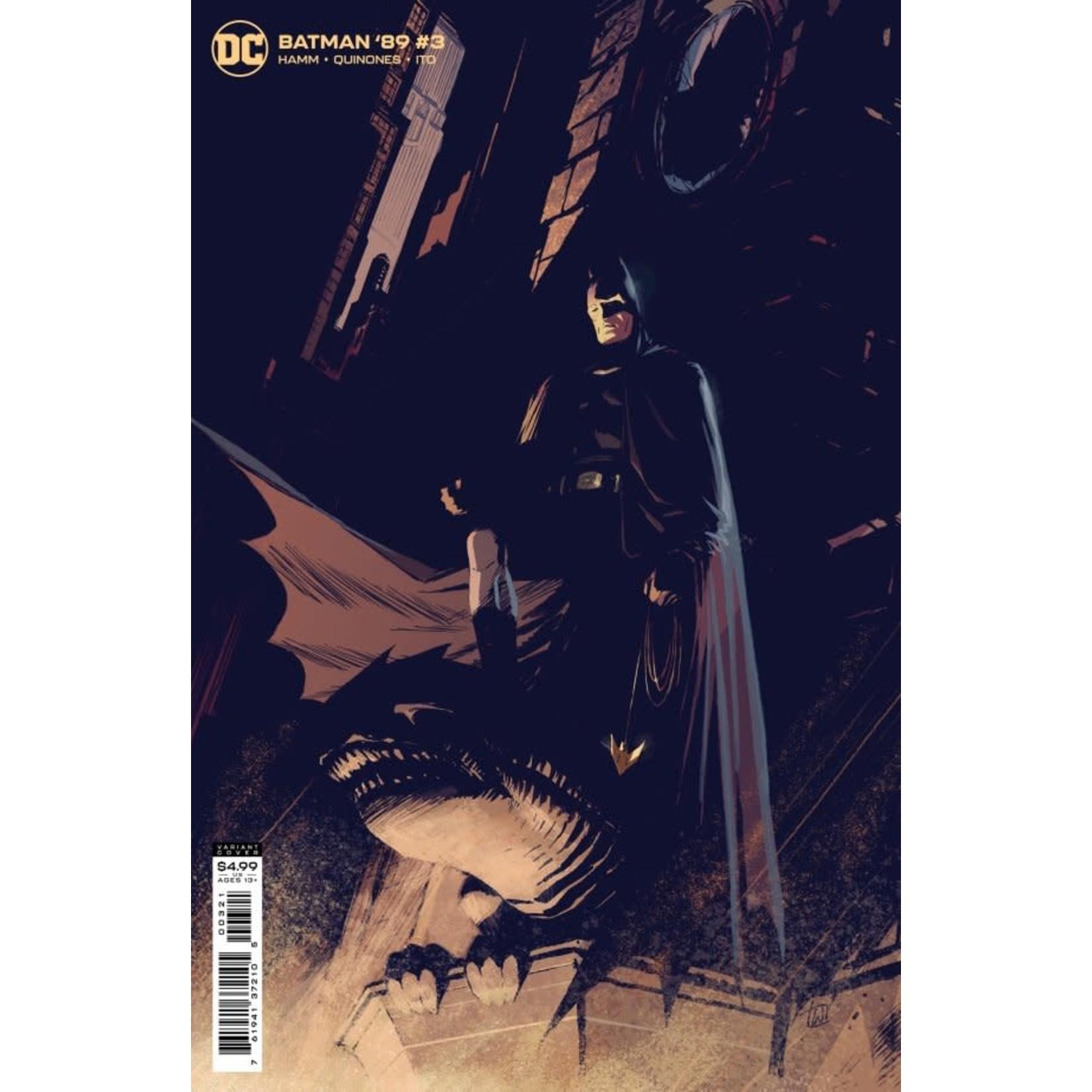 DC Comics Batman '89 #3 Cover B Weeks Card Stock Variant