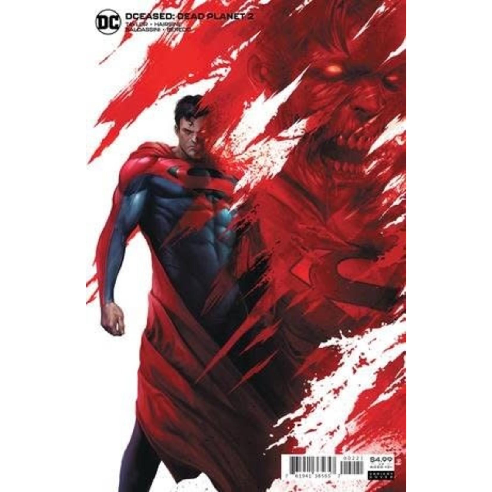 DC Comics DCeased: Dead Planet #2 Mattina Card Stock Variant Cover