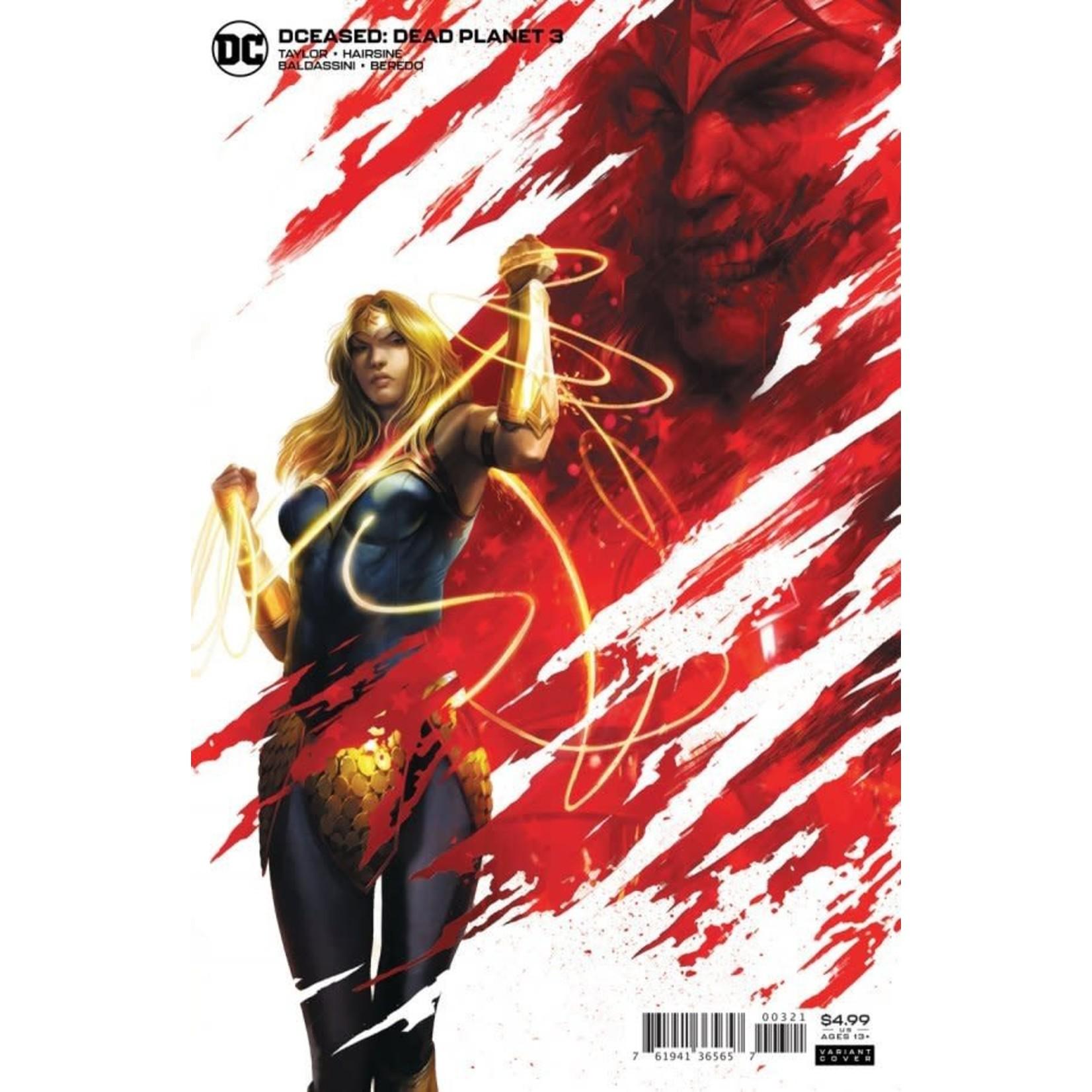 DC Comics DCeased: Dead Planet #3 Cover B Francesco Mattina Card Stock Variant Cover