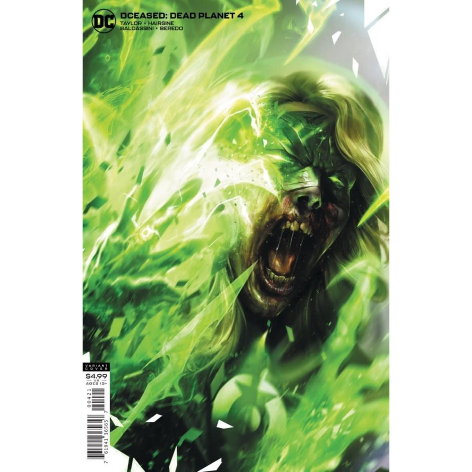 DC Comics DCeased: Dead Planet #4 Card Stock Variant Cover by Francesco Mattina
