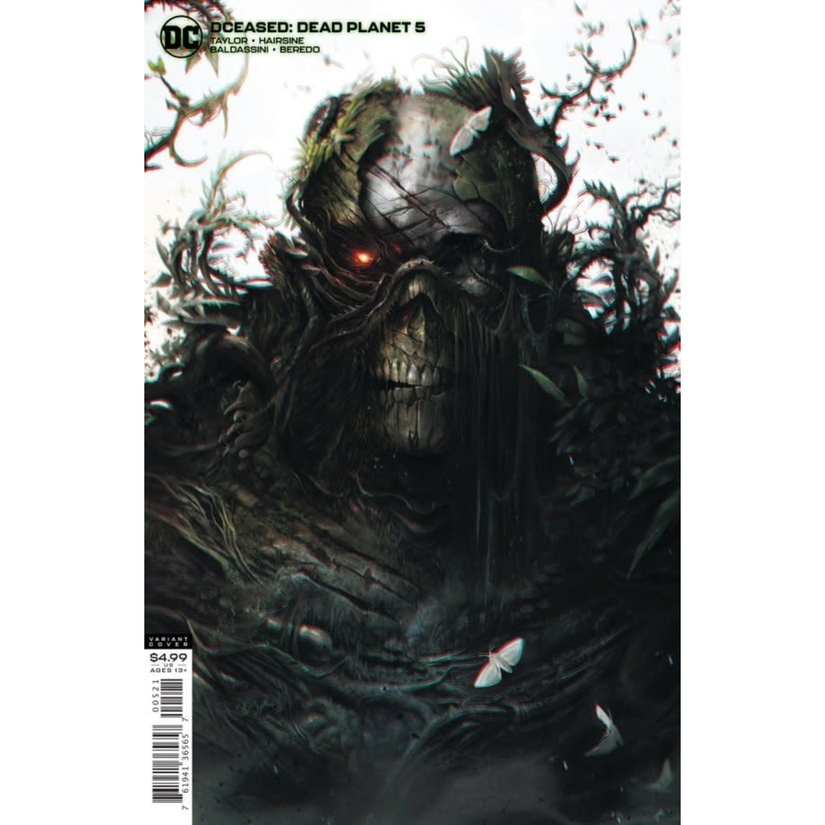 DC Comics DCeased: Dead Planet #5 Cover B Francesco Mattina Card Stock Variant