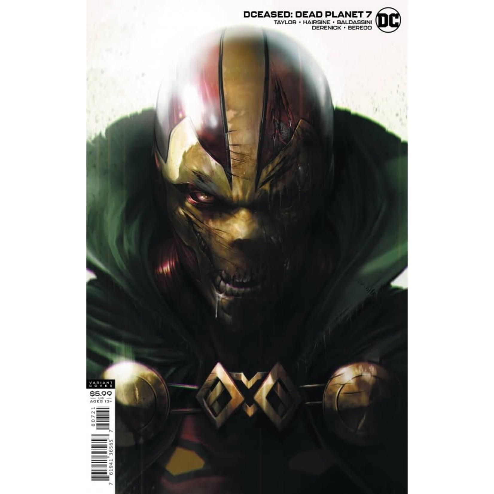 DC Comics DCeased: Dead Planet #7 Francesco Mattina Card Stock Variant Edition