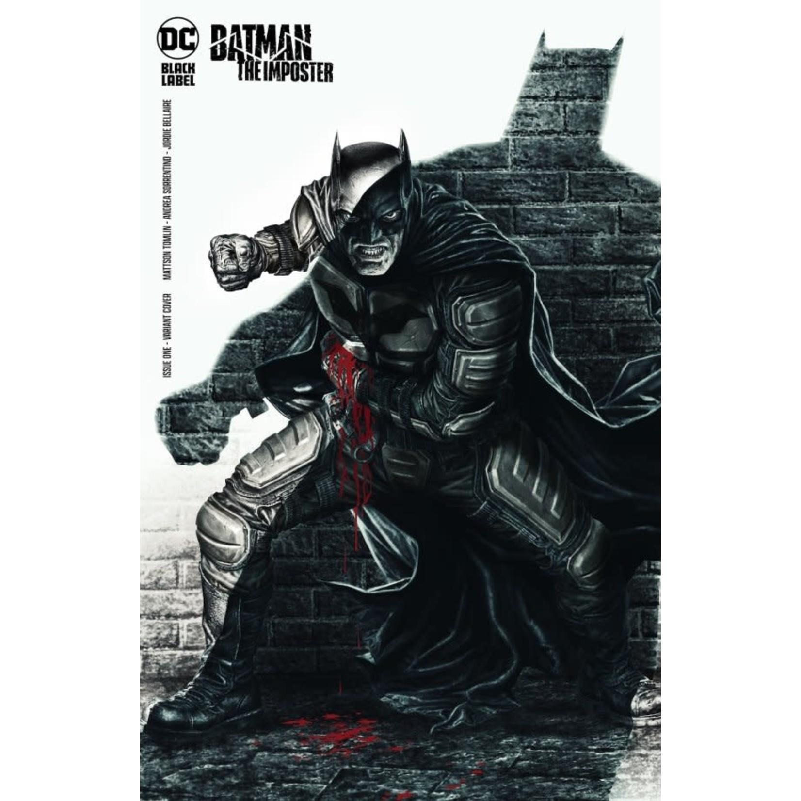 DC Comics Batman: The Imposter #1 Cover B Bermejo