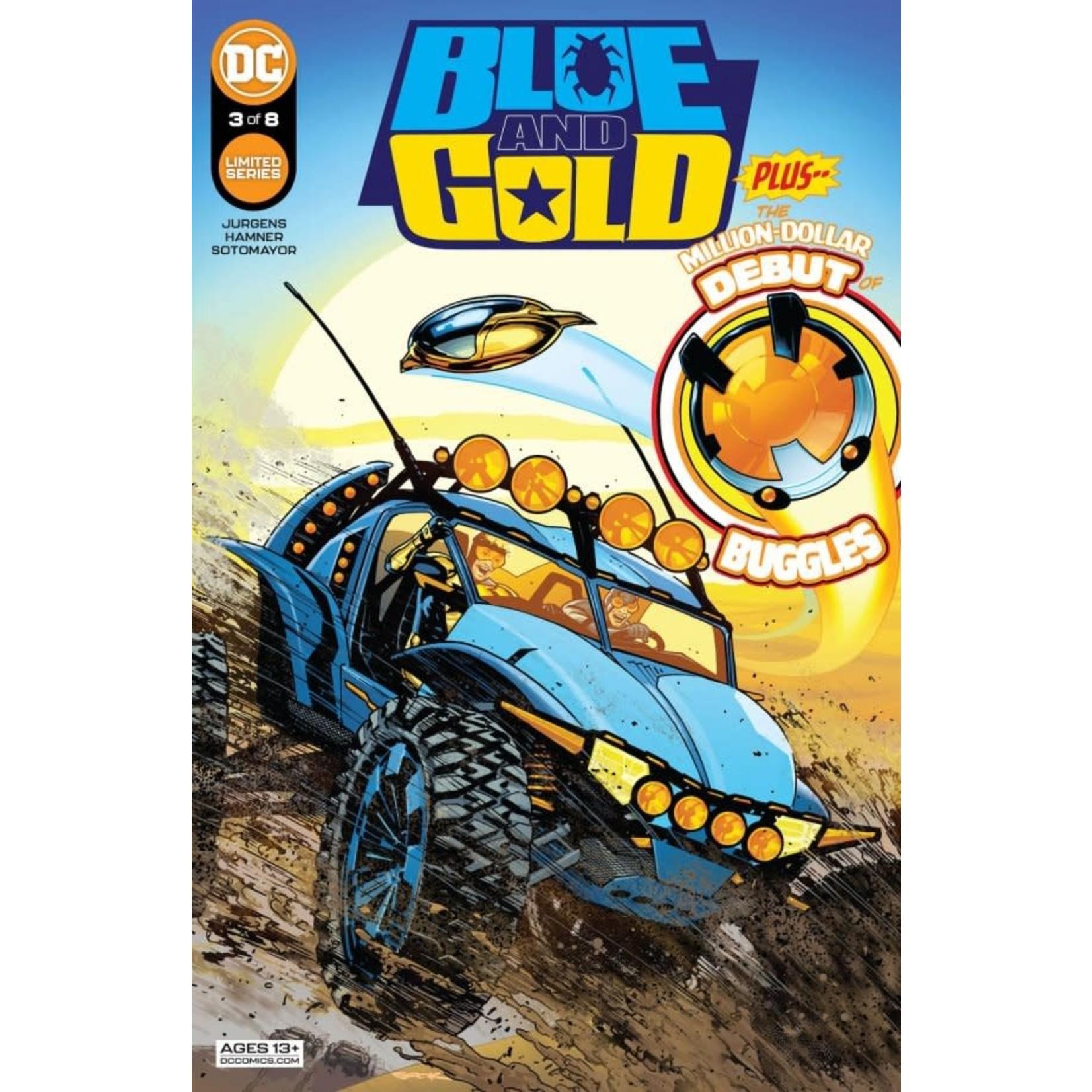 DC Comics Blue & Gold #3
