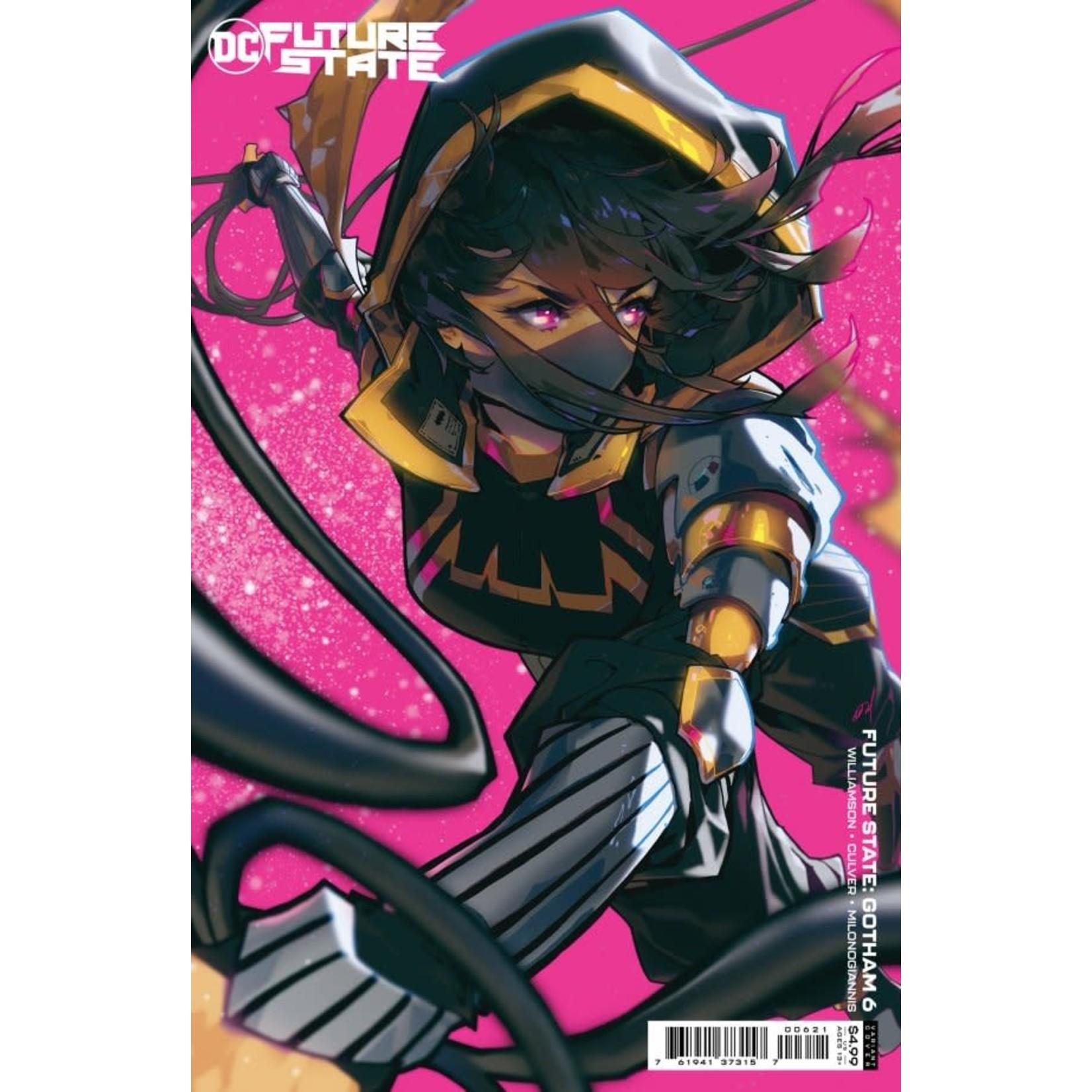 DC Comics Future State: Gotham #6 Cover B Besch Card Stock Variant