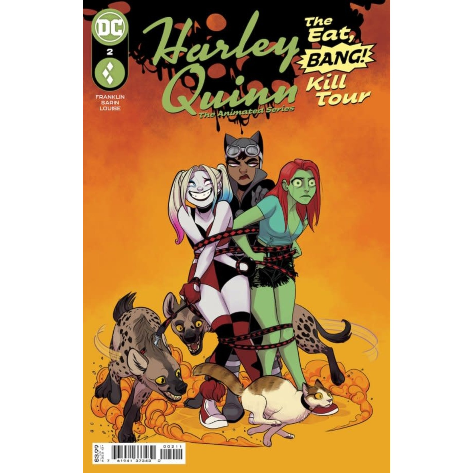 DC Comics Harley Quinn: The Animated Series - The Eat, Bang, Kill Tour #2