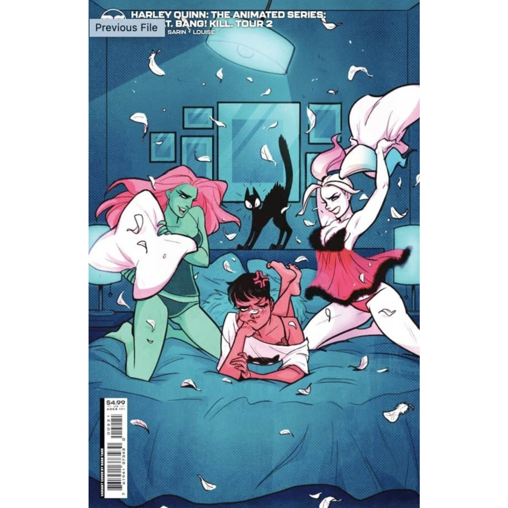 DC Comics Harley Quinn: The Animated Series - The Eat, Bang, Kill Tour #2 Cover B Babs Tarr Card Stock Variant
