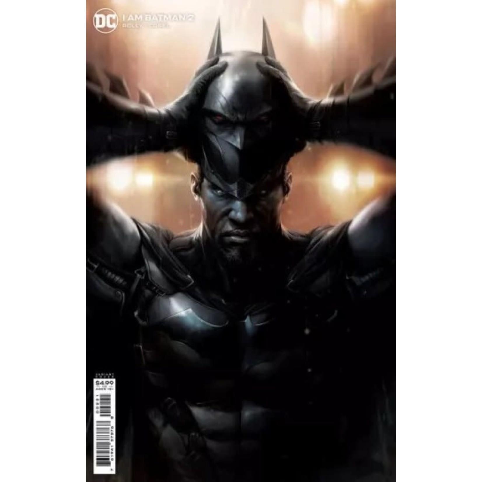 DC Comics I Am Batman #2 Francesco Mattina Variant
