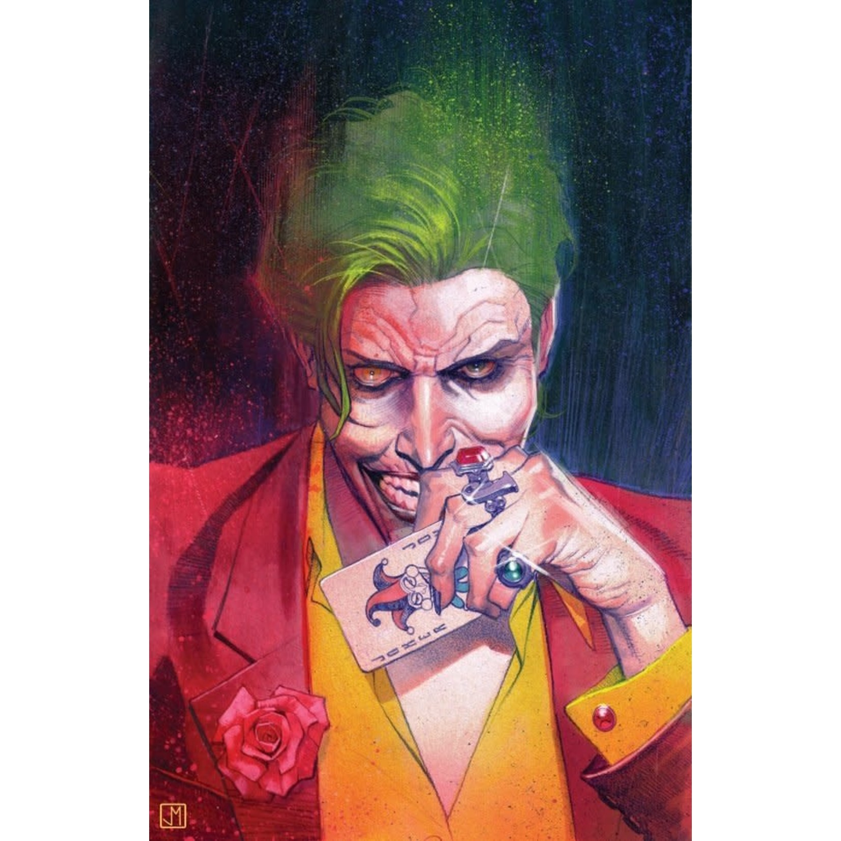 DC Comics The Joker #8 Cover B Molina