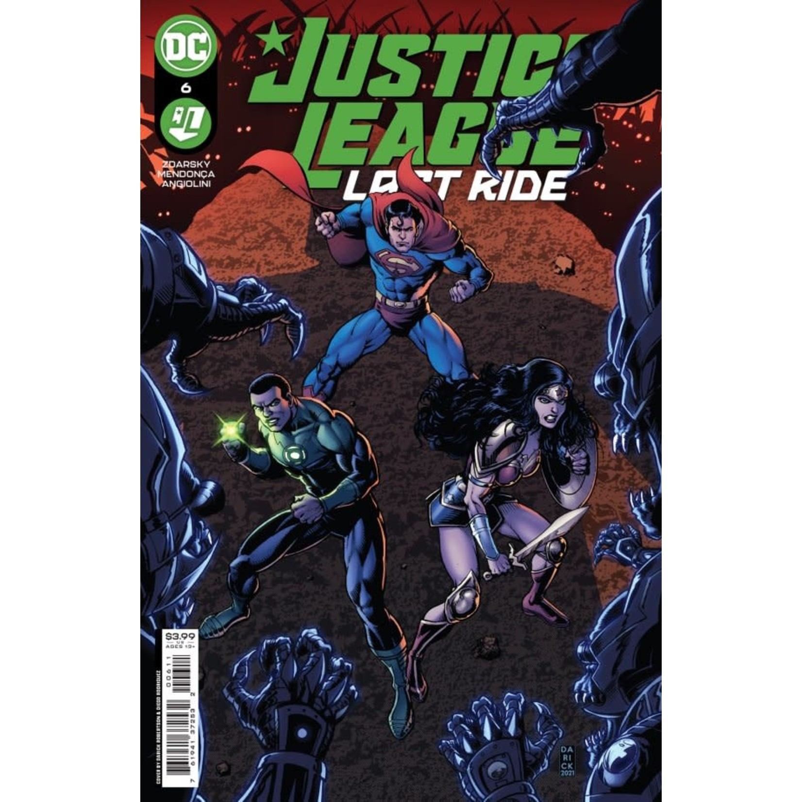 DC Comics Justice League: Last Ride #6
