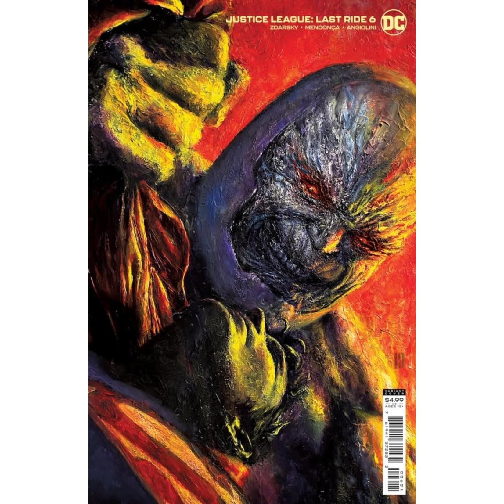 DC Comics Justice League: Last Ride #6 Card Stock Variant