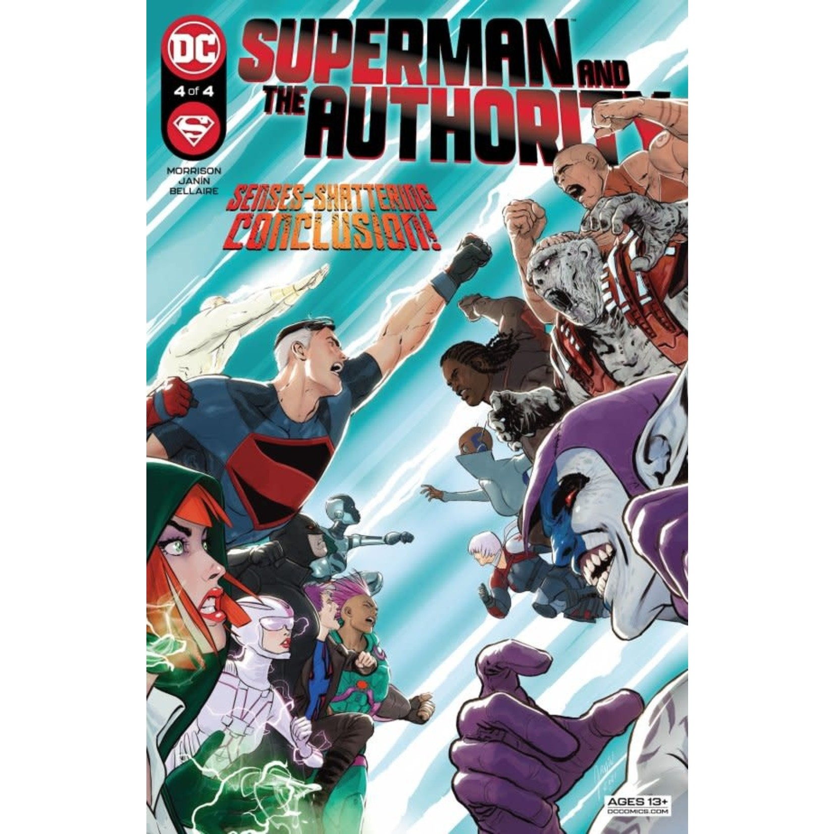 DC Comics Superman and the Authority #4