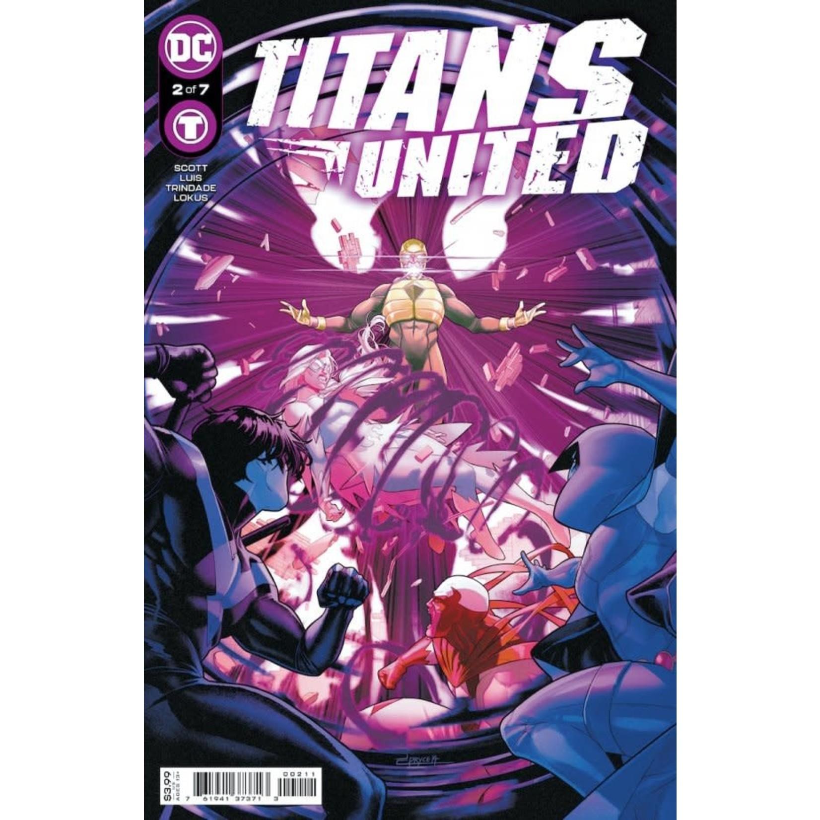 DC Comics Titans United #2