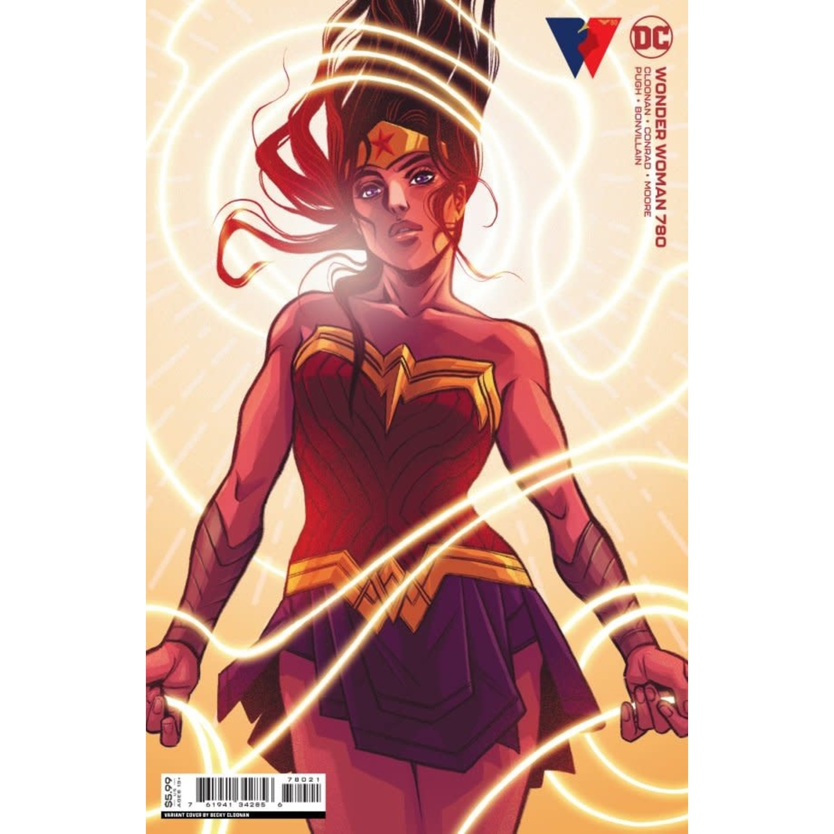 DC Comics Wonder Woman #780 Card Stock Variant Cover