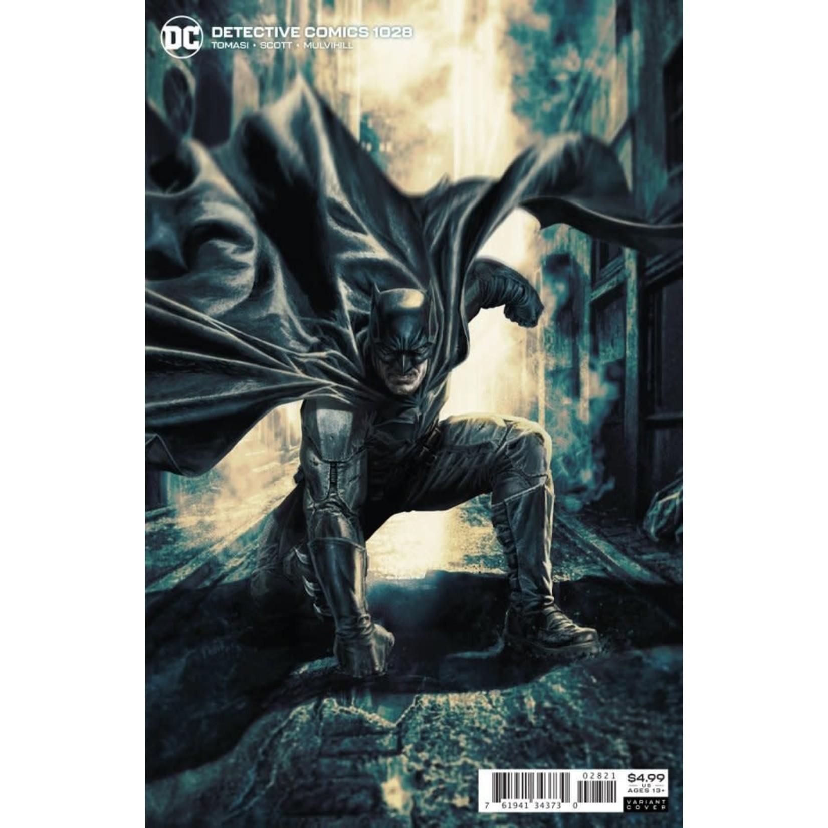 DC Comics Detective Comics #1028 Card Stock Variant Edition by Lee Bermejo