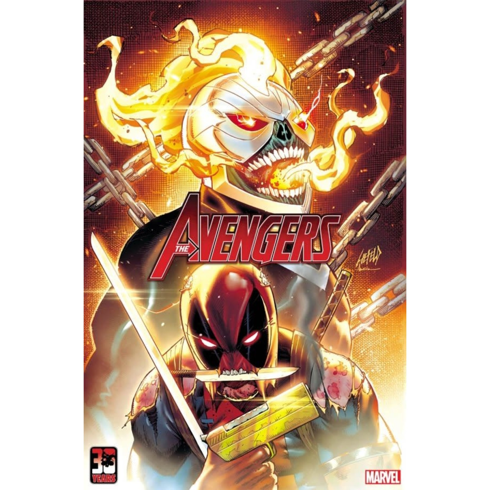The Avengers #49 Liefield Deadpool 30th Anniversary Variant
