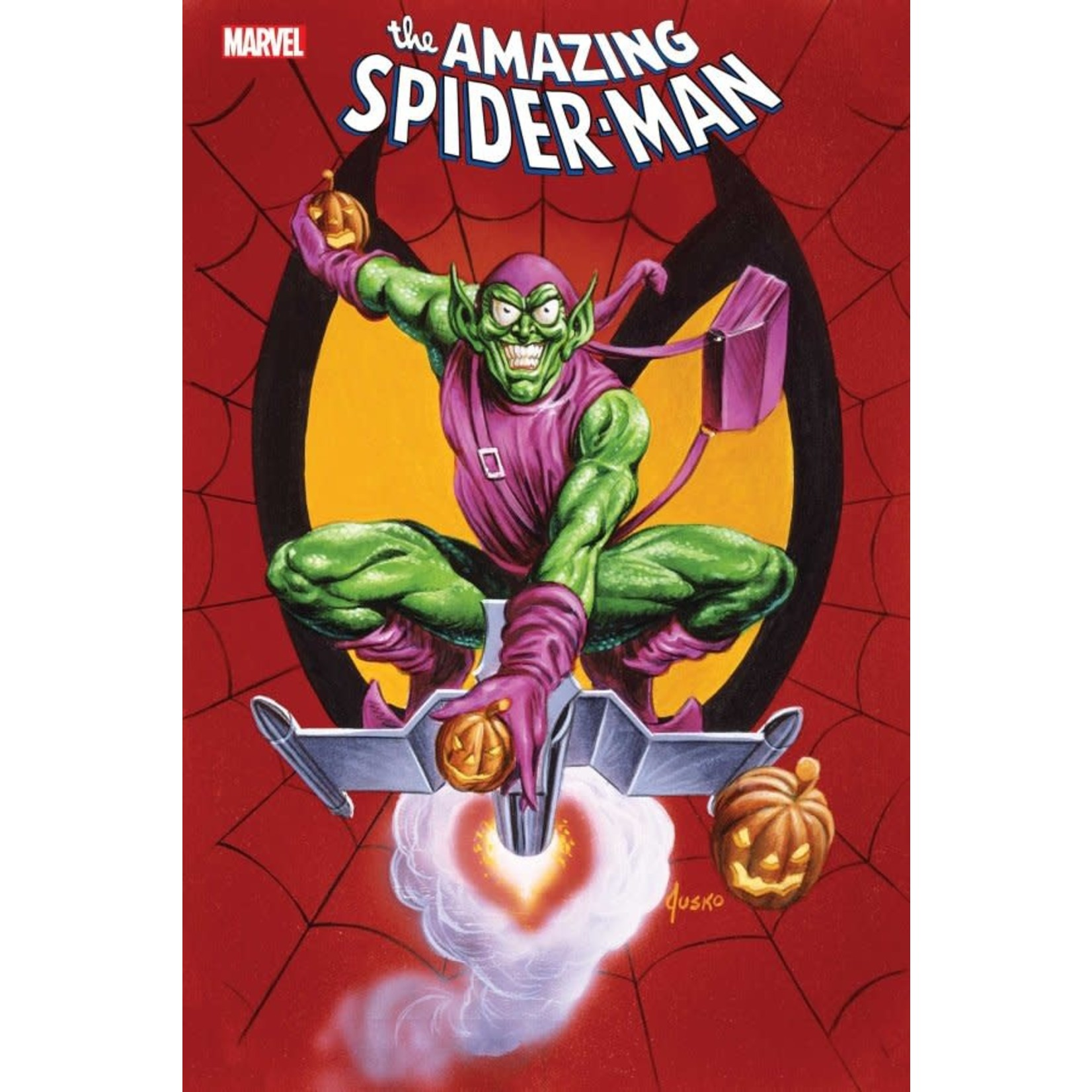 The Amazing Spider-Man #76 Jusko Marvel Masterpieces Variant