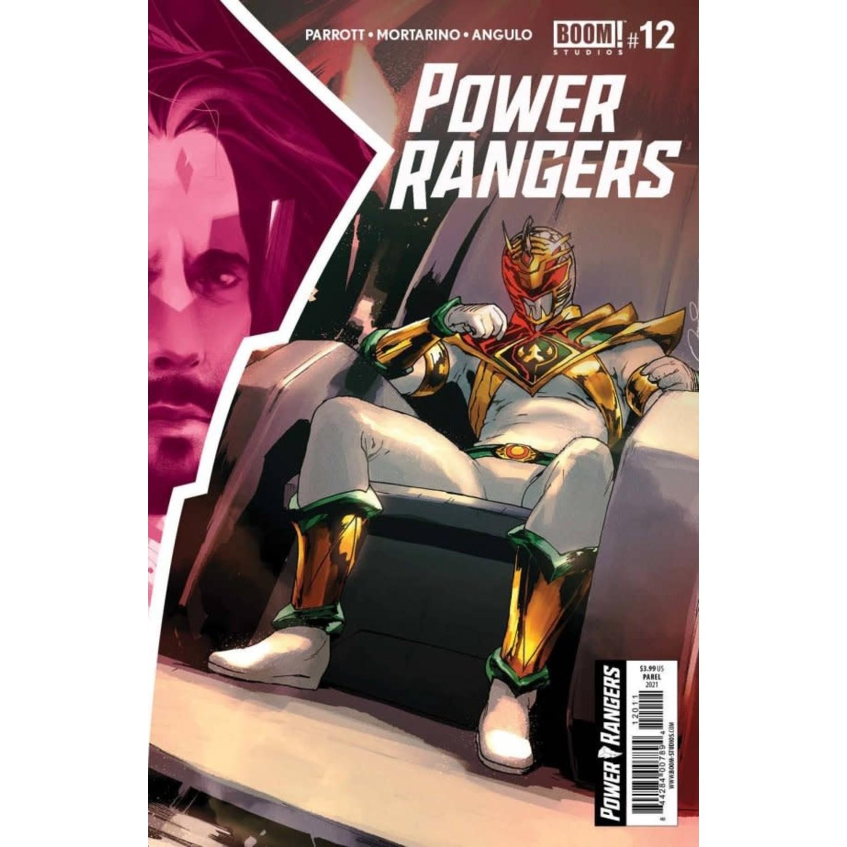Boom Power Rangers #12
