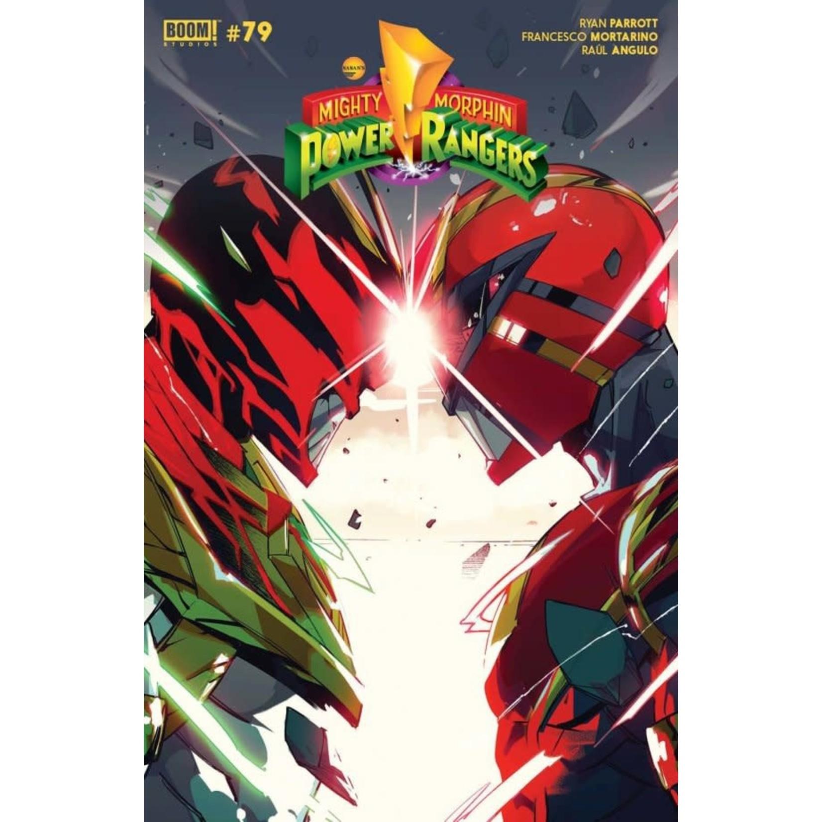 Boom Power Rangers #12 Cover B