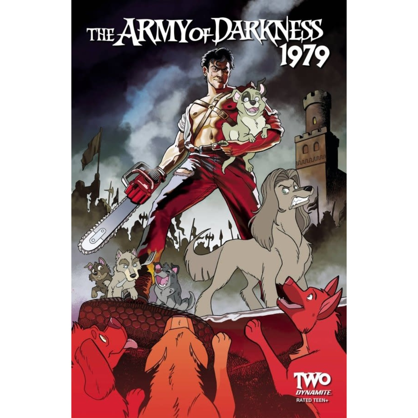 Dynamite Army of Darkness 1979 #2 Cover M FOC Bonus Fleecs