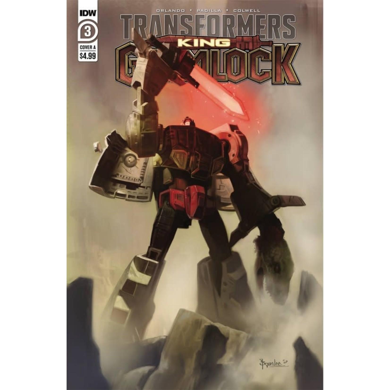 Transformers: King Grimlock #3