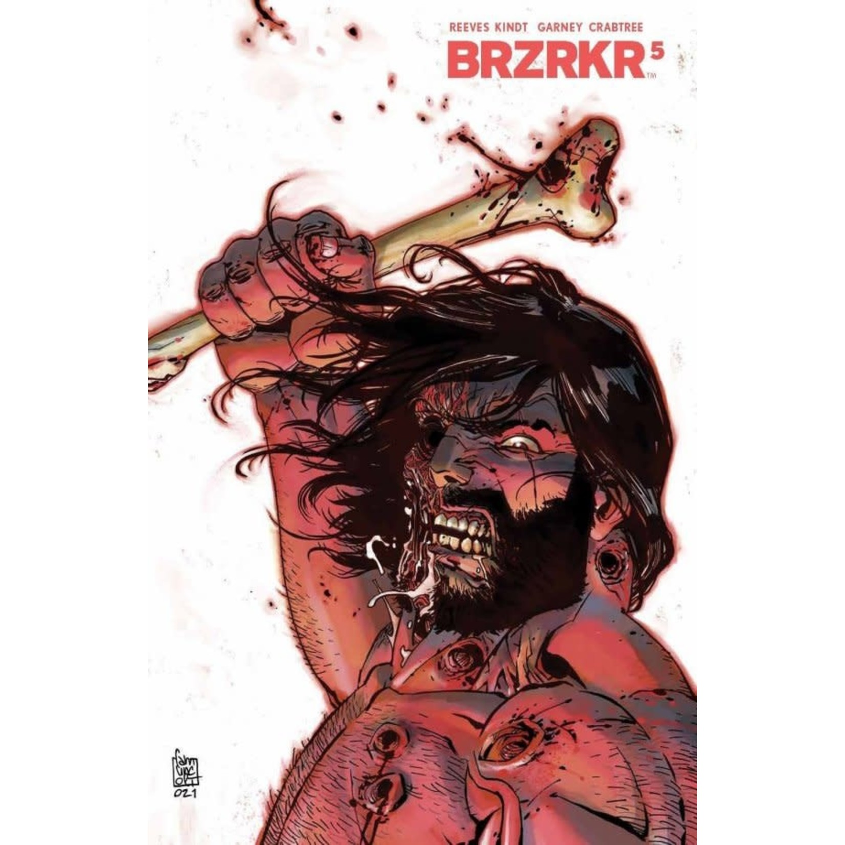 Boom BRZRKR #5 Cover B Camuncoli