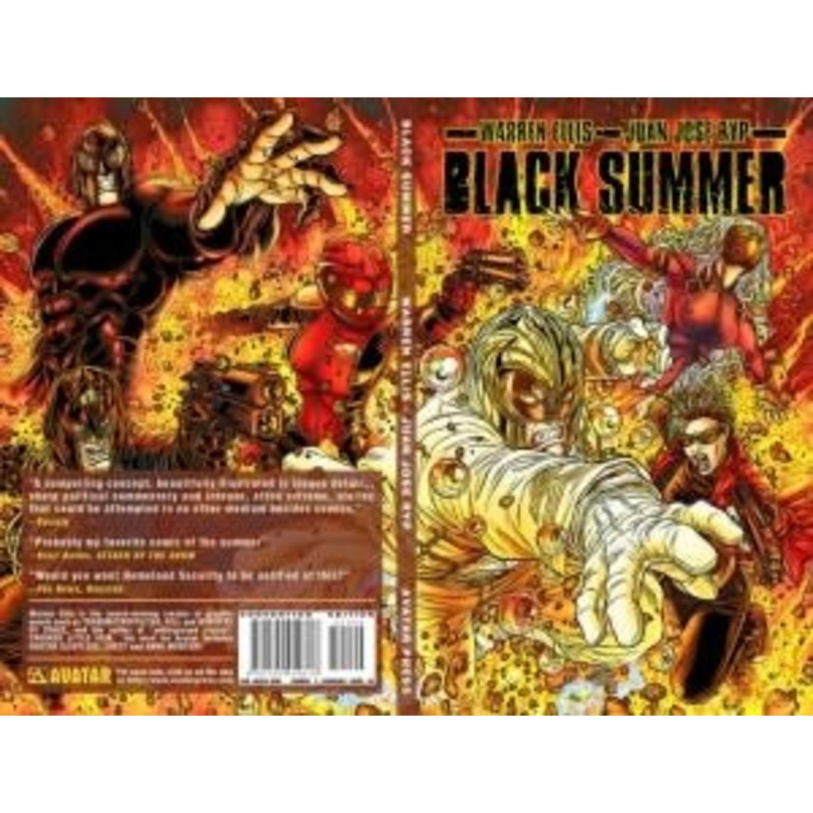 avatar press Black Summer TP Convention Edition