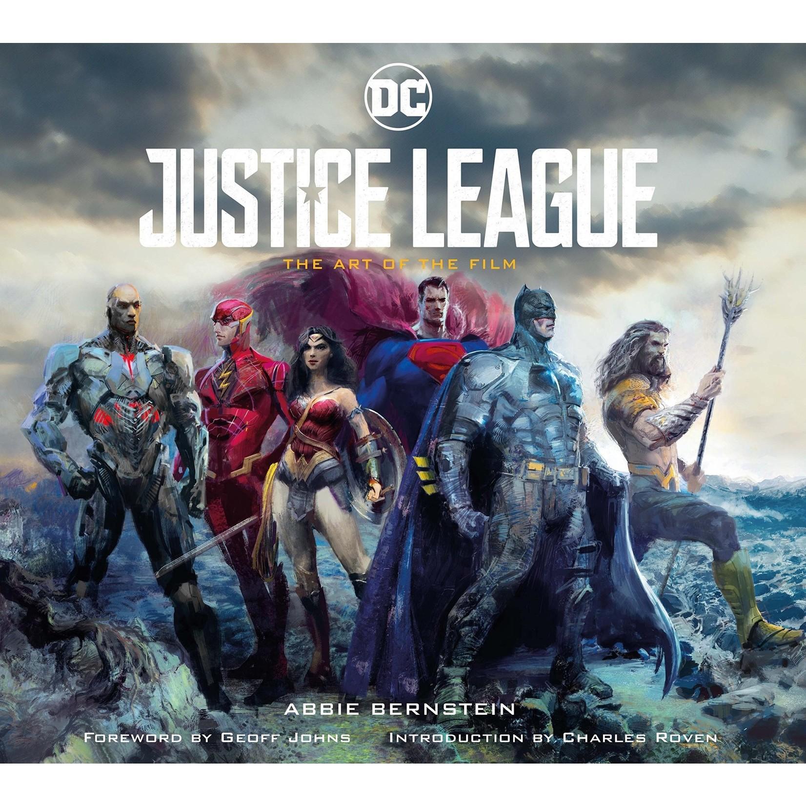 Titan Books Justice League Art of the Film HC