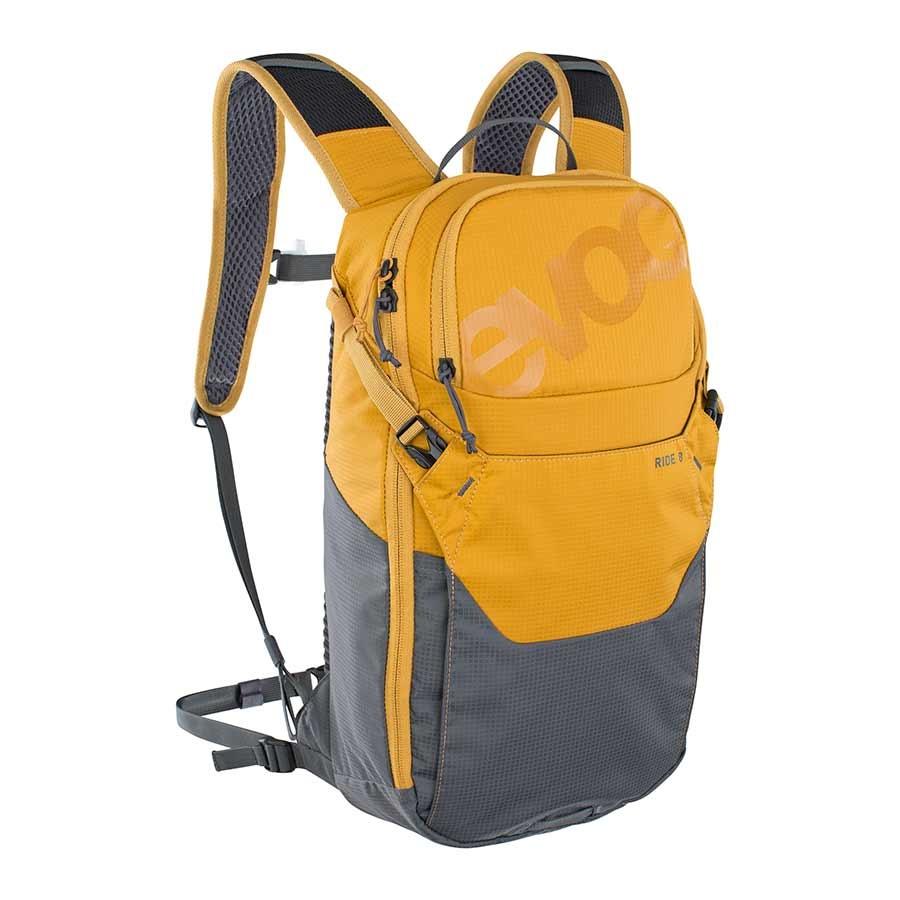 EVOC, Ride 8, Hydration Bag, Volume: 8L, w/ 2L Bladder, Carbon/Grey-1