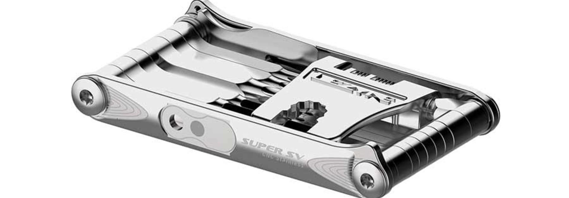 Lezyne, Super SV23, Multi-Tools - Silver